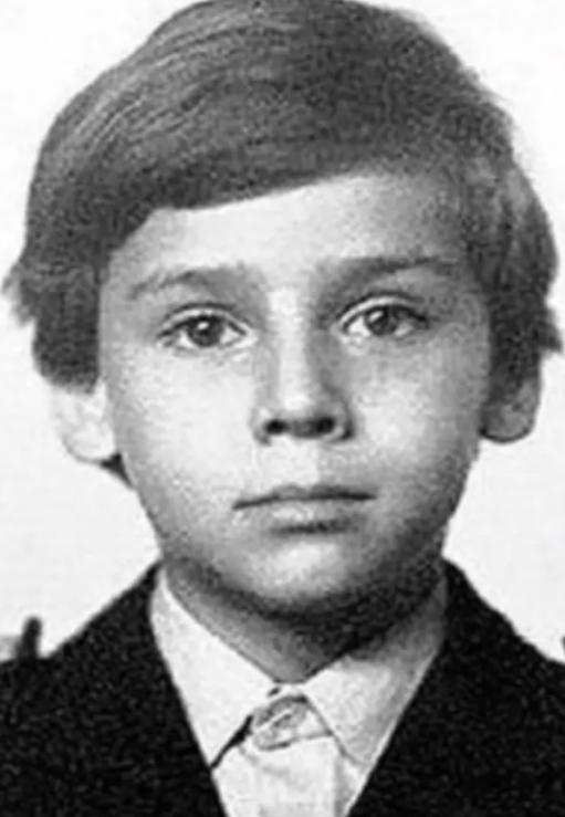 Максим Галкин в начальных классах