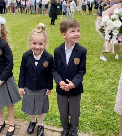 Гаррі і Ліза Галкіни пішли в перший клас