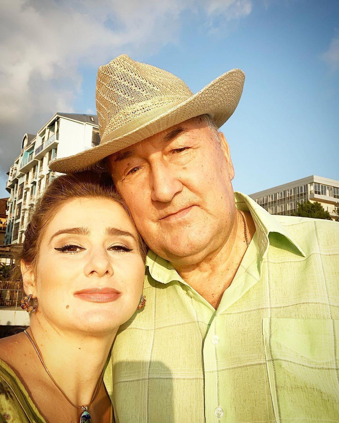 Юлия Куварзина и Борис Клюев (Instagram Юлии Куварзиной)