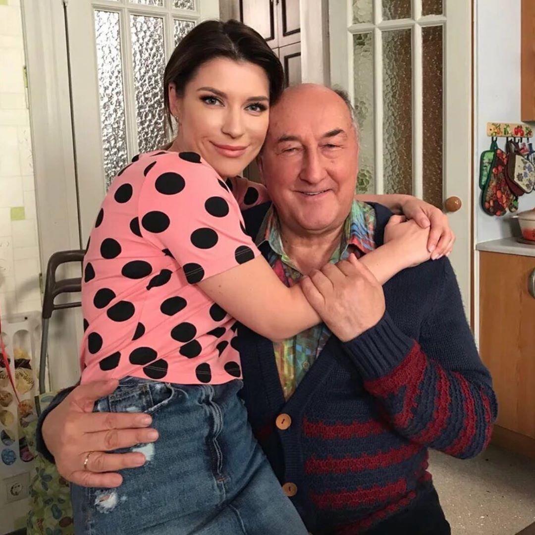 Екатерина Волкова и Борис Клюев (Instagram Екатерины Волковой)