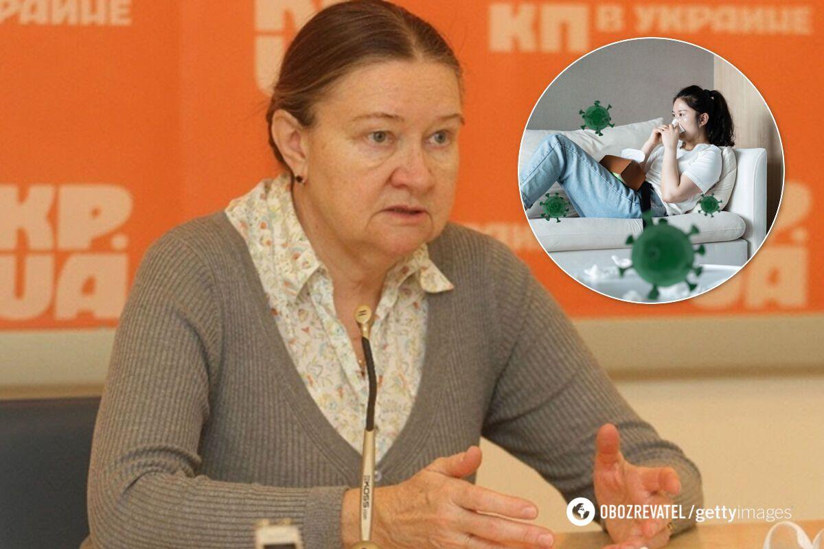 """Мироненко предупредила о распространении похожего на COVID-19 гриппа """"Гонконг"""""""