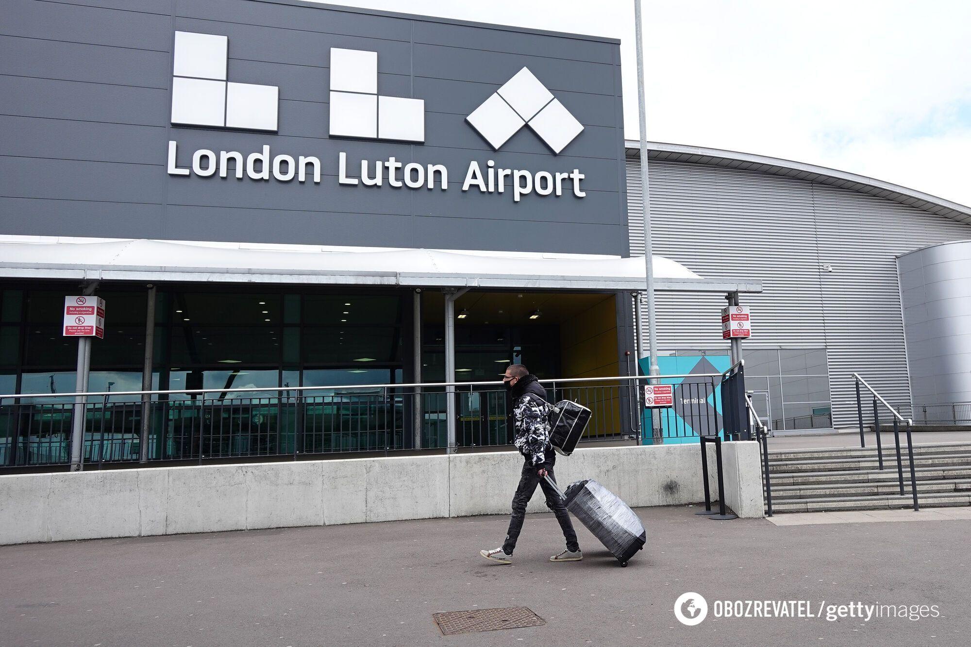 """Аэропорт """"Лутон"""" находится в 48 км к северу от Лондона"""