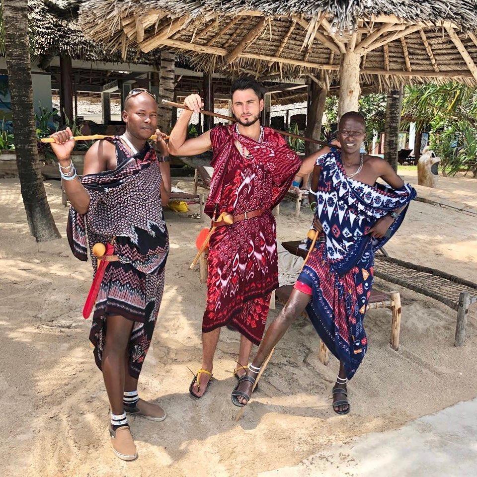 Узол с танзанийскими женщинами
