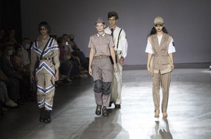 Кличко заинтересовали модели дизайнеров.