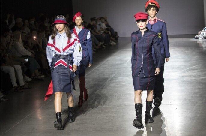 Кличко заинтересовало видение дизайнеров одежды для коммунальщиков.