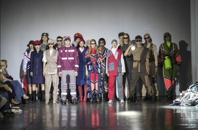 Дизайнерская одежда для коммунальных служб заинтересовала мэра Кличко.