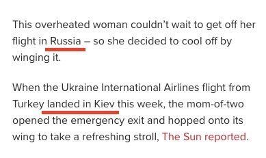 Американские журналисты перепутали Украину с Россией и неправильнона писали Киев.
