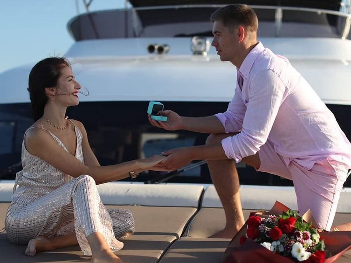 Остапчук зробив пропозицію коханій в Стамбулі.