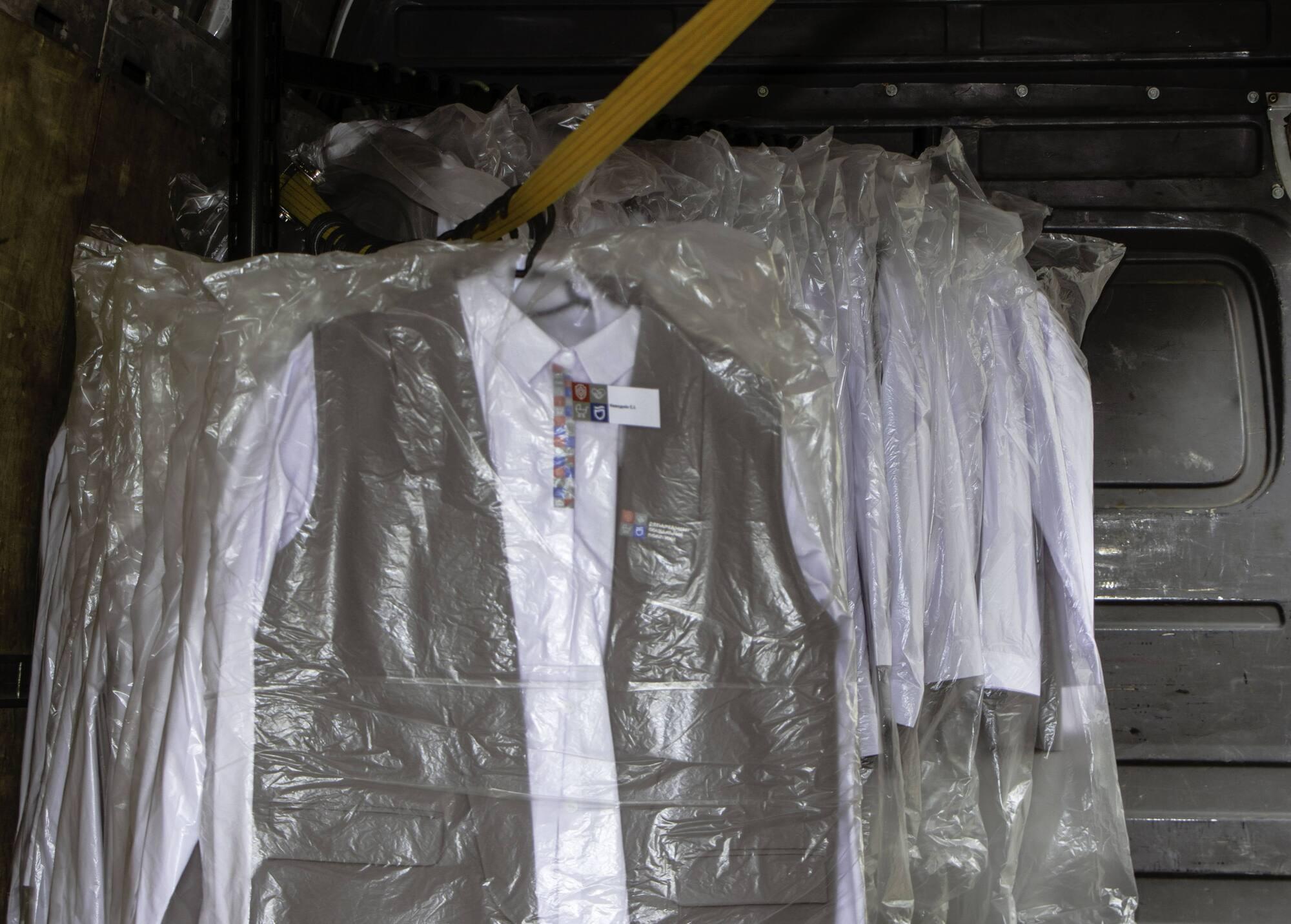 Корпоративная одежда для специалистов Левобережного управления социальной защиты