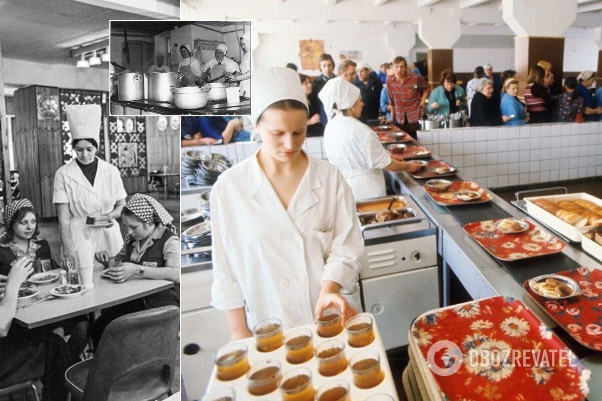 Працівники закладів громадського харчування в СРСР крали продукти