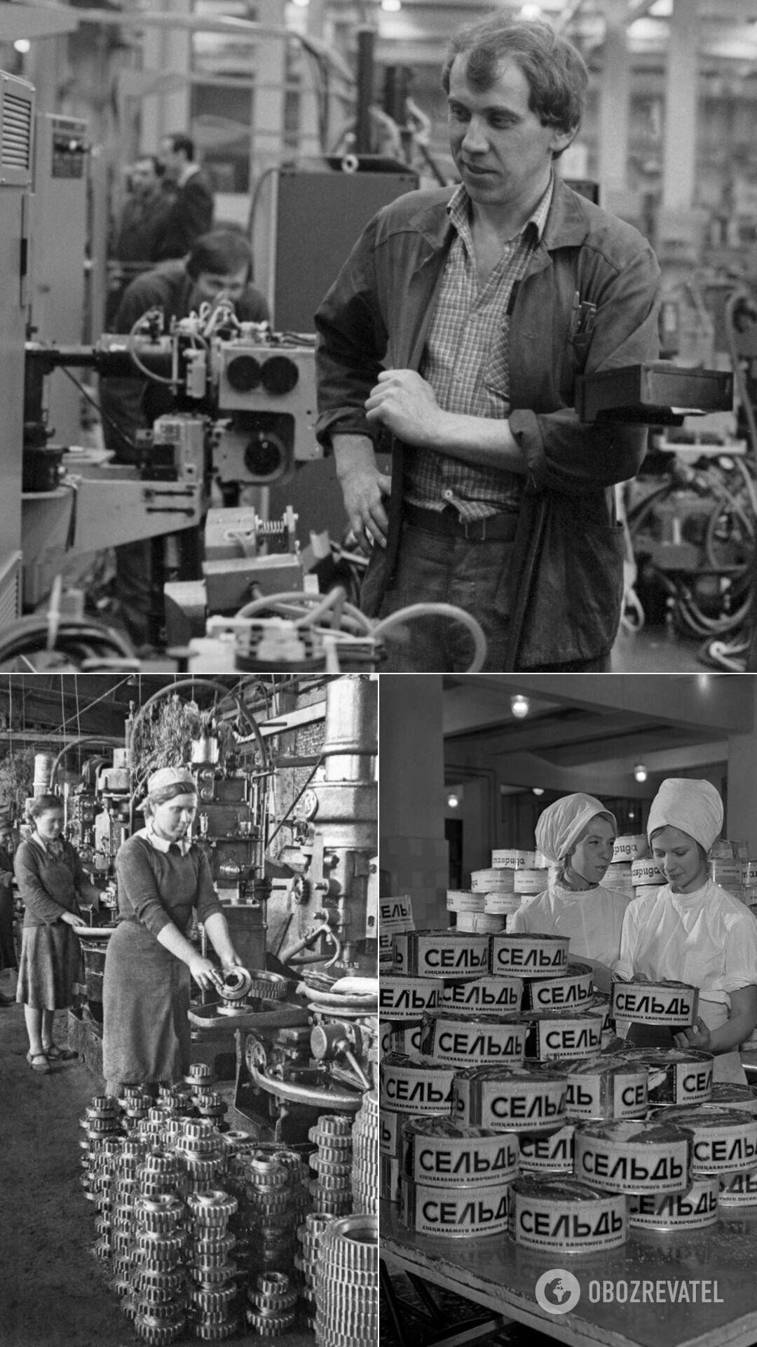 На заводах у СРСР крали запчастини або займалися бартером