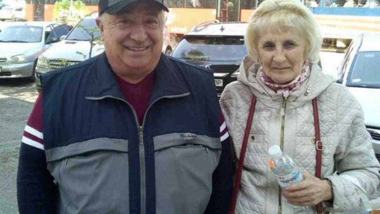 Олександр Зеленський із дружиною