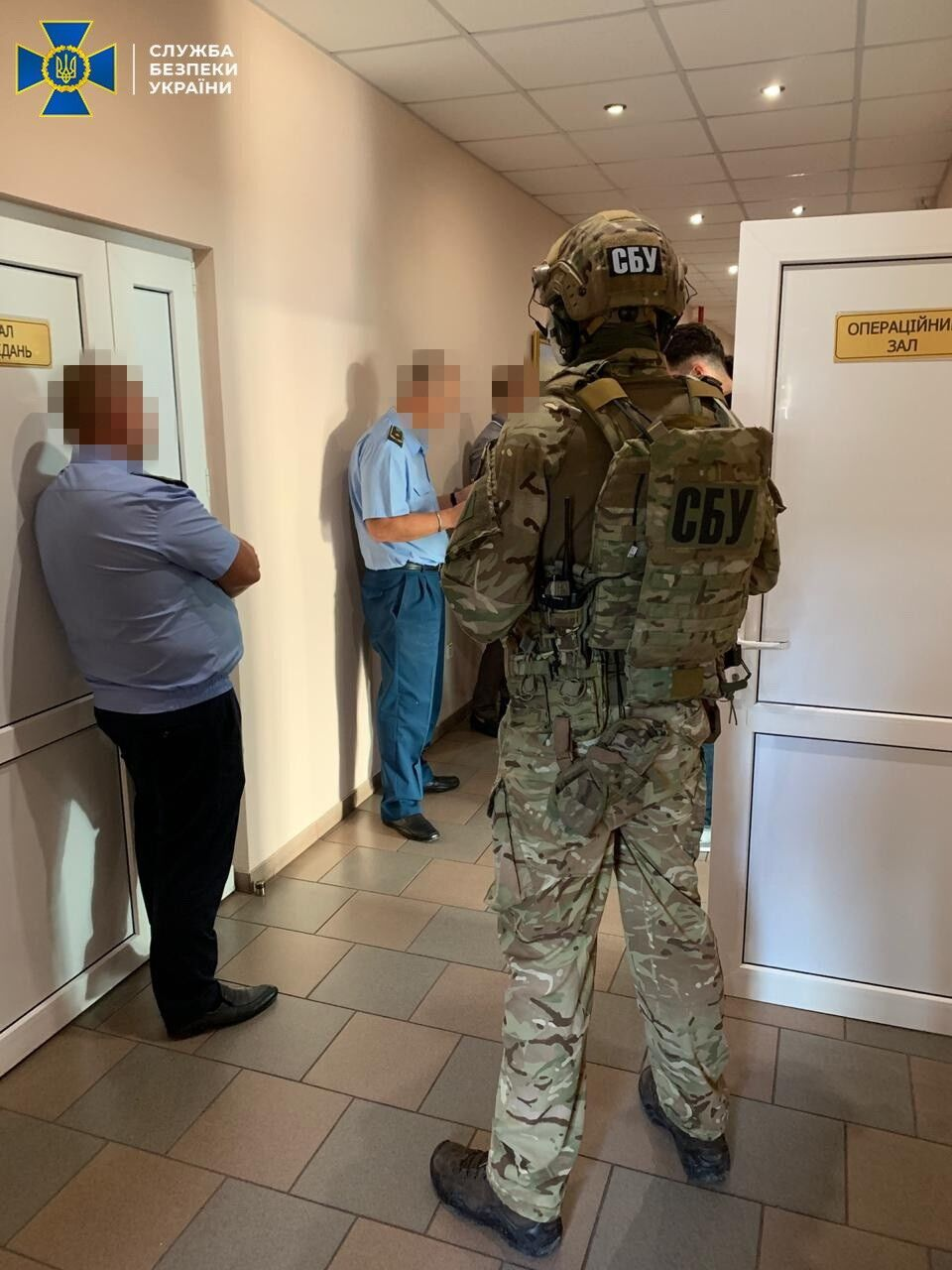 """СБУ выявила схему на таможенном посту """"Городок""""."""