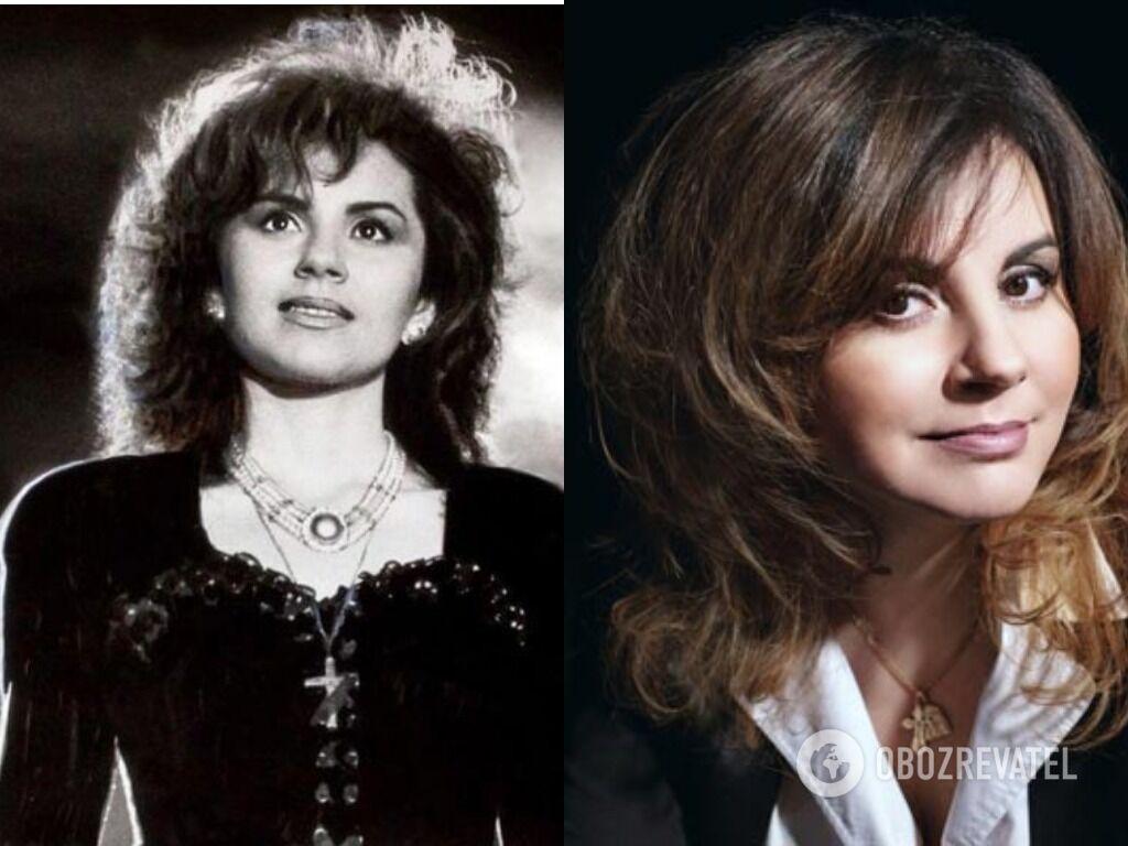 Світлана Кашина в молодості і зараз.