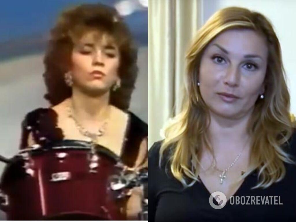 Юлія Козюлькова в молодості і зараз.
