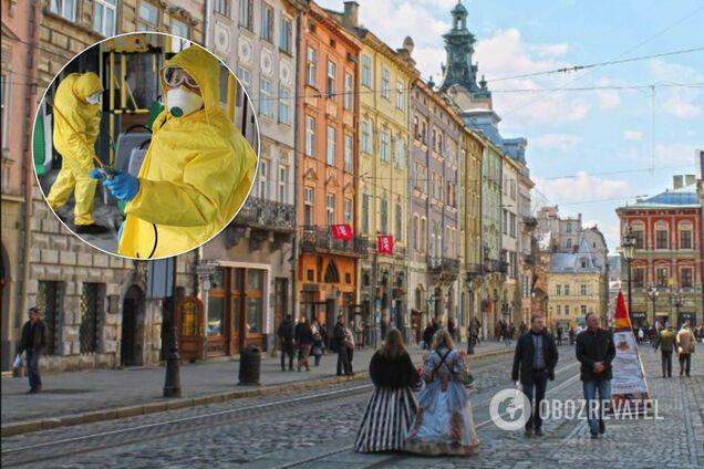 Коронавирус во Львове