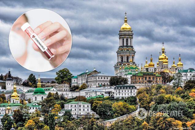 Киево-Печерская лавра. Иллюстрация