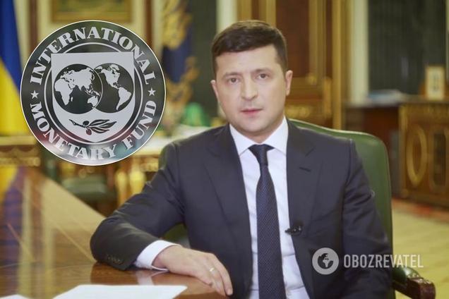 Зеленський провів переговори з МВФ про новий кредит