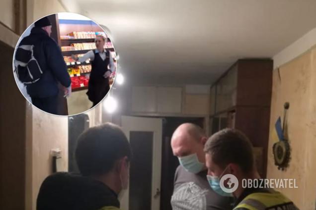 Киянина, який побив працівниць Roshen, знайшли за резонансним відео