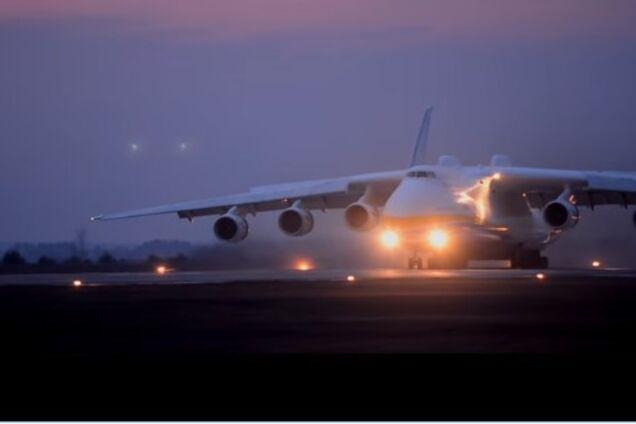 """АН-225 """"Мрия"""" присоединился к перевозкам гуманитарных грузов для борьбы с коронавирусом"""