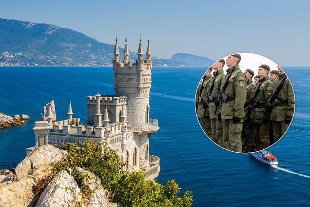 Россия проводит незаконный призыв в Крыму