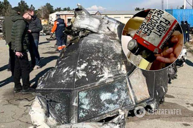 """""""Чорні скриньки"""" збитого над Тегераном літака МАУ залишать в Ірані"""