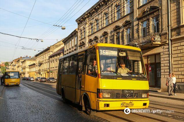 Города Украины откажутся от маршруток