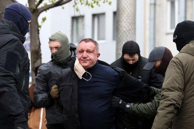 Задержание Валерия Шайтанова