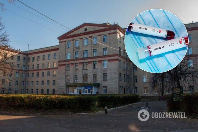 Вспышка COVID-19 в Медгородке Киева. Иллюстрация
