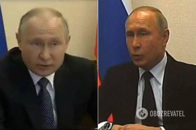 Путина уличили в использовании двойника