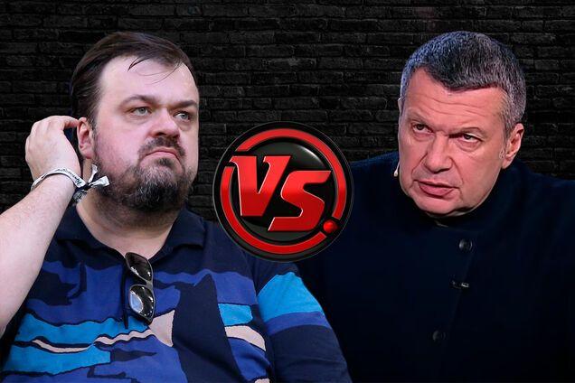 Василий Уткин и Владимир Соловьев