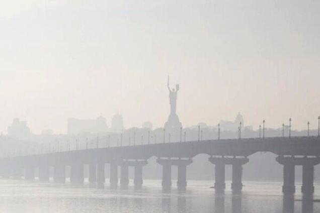 Уровень загрязнения воздуха в Киеве резко увеличился: город снова возглавил мировой антирейтинг