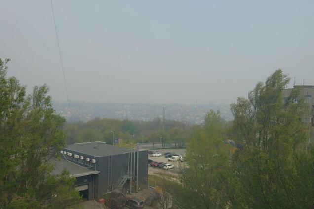 Днепропетровщина утопает в смоге