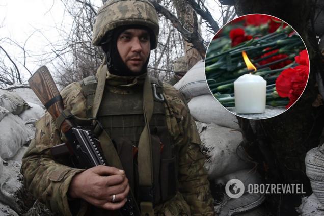 На Дніпропетровщині попрощалися із загиблим на Донбасі військовим