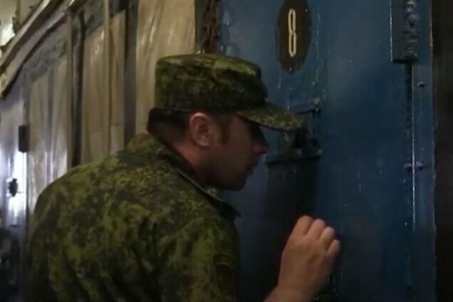 """Кадр из видео пропагандистов """"ДНР"""", в котором они показывали колонию №52 в Енакиево"""