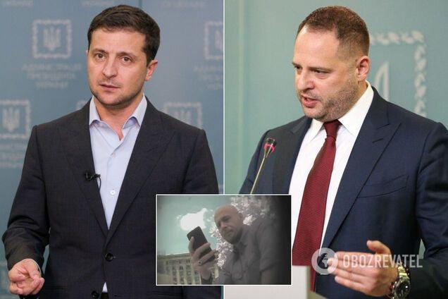 """Зеленський обговорив зі """"слугами"""" скандал із Єрмаком"""
