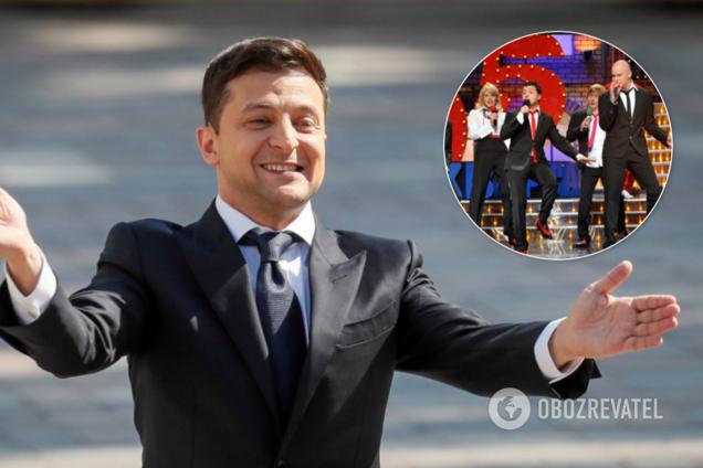 """Зеленский может вернуться в """"Квартал 95"""""""