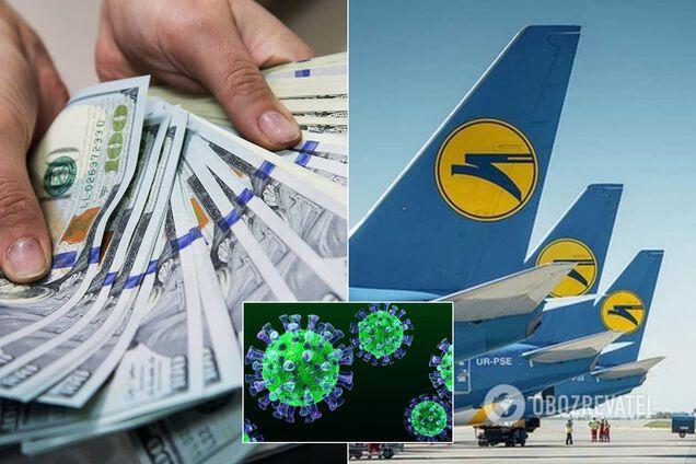 Виплати авіакомпаніям