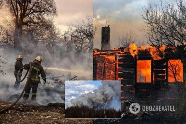 У Житомирській області згоріли будинки: в ОДА пообіцяли компенсацію