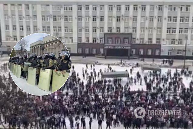У Північній Осетії збунтувалися проти карантину: ОМОН розігнав тисячі людей. Фото і відео