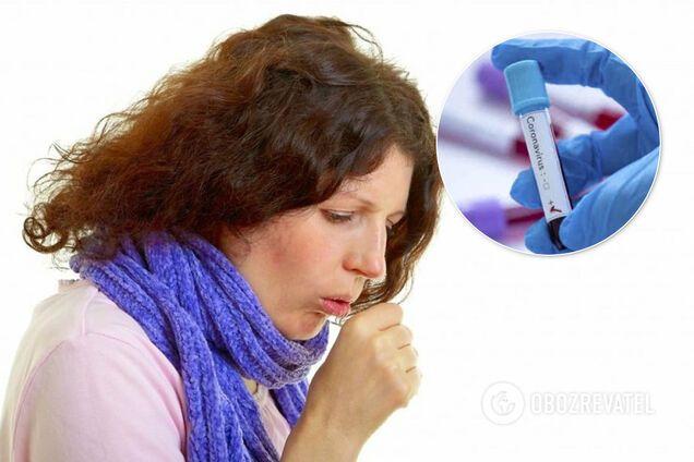 Симптомом заболевания коронавирусом может быть не только сухой кашель, но и кашель с мокротой