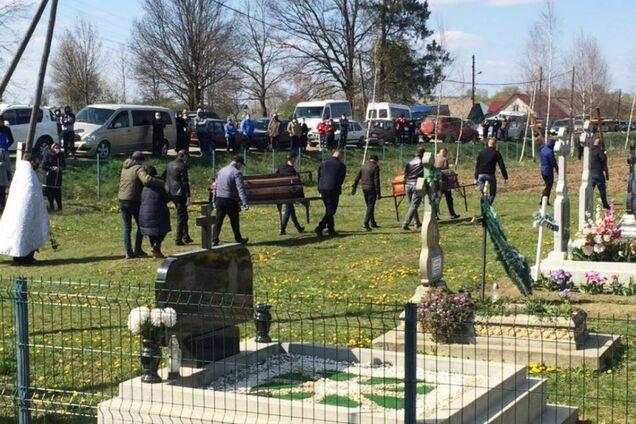 Похорон Андрія та Івана Фрунзи