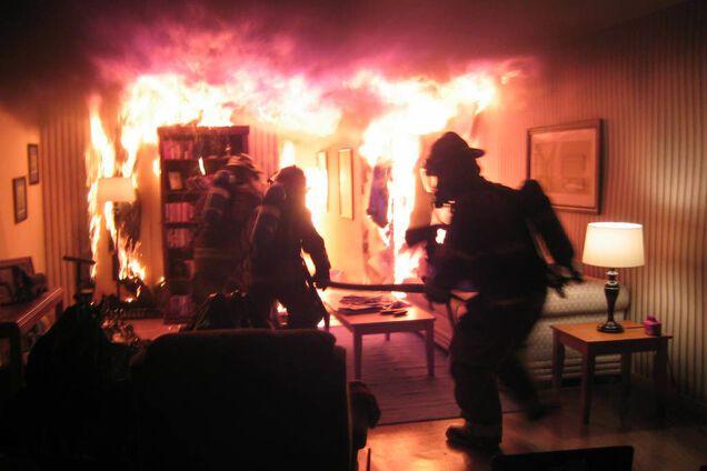 Пожежа в Кривому Розі