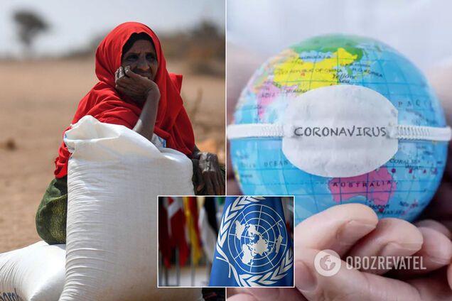 "В ООН предупредили о риске голода ""библейских масштабов"" из-за пандемии COVID-19"