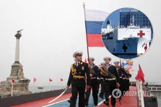 Россия устроит в Крыму рассадник с больными COVID-19 военными