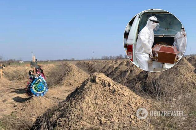 """""""Хуже собаки зарыли"""": украинка рассказала об ужасах похорон пациента с подозрением на COVID-19 в Василькове"""