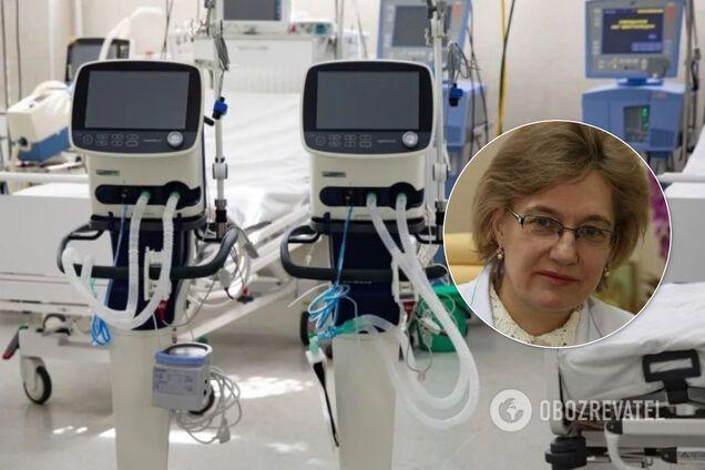 В США 88% с COVID-19 не выжили на ИВЛ: Голубовская дала еще худший прогноз по Украине