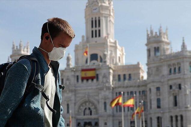 Испания продлила чрезвычайное положение