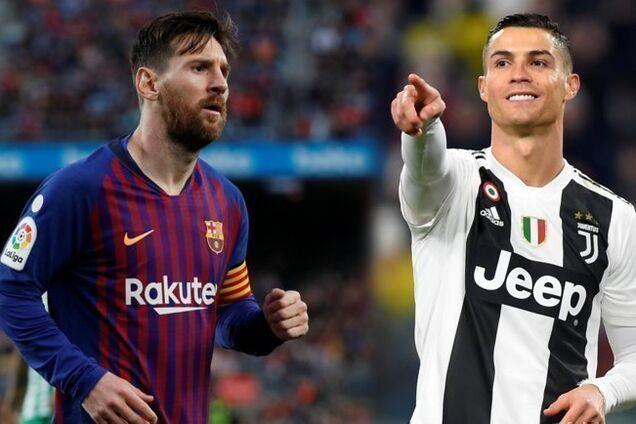 Лионель Месси против Криштиану Роналду - главное противостояние современного футбола