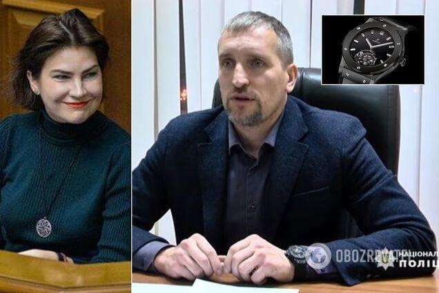 Чоловік Венедиктової засвітився з годинником Hublot за 1,5 мільйона гривень